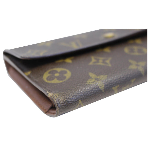 louis Vuitton Porte Tresor International Wallet - side view