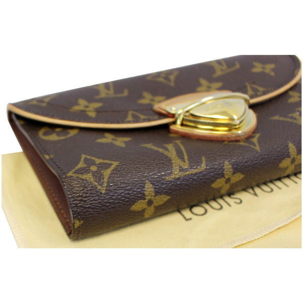 LOUIS VUITTON Eugenie Monogram Canvas Wallet Brown