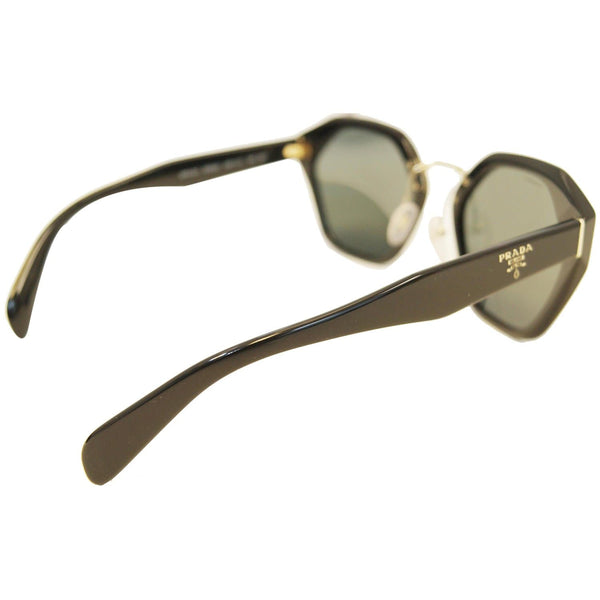 Prada Black Sunglasses Women's - Left side View