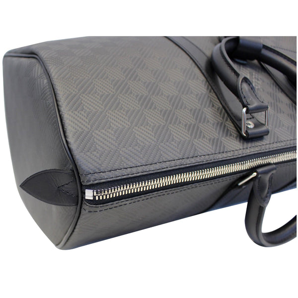 Louis Vuitton Keepall 45 Carbon Fiber Carbone Travel Bag for women