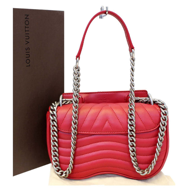 Louis Vuitton PM Wave Love Lock Chain Shoulder Bag for women
