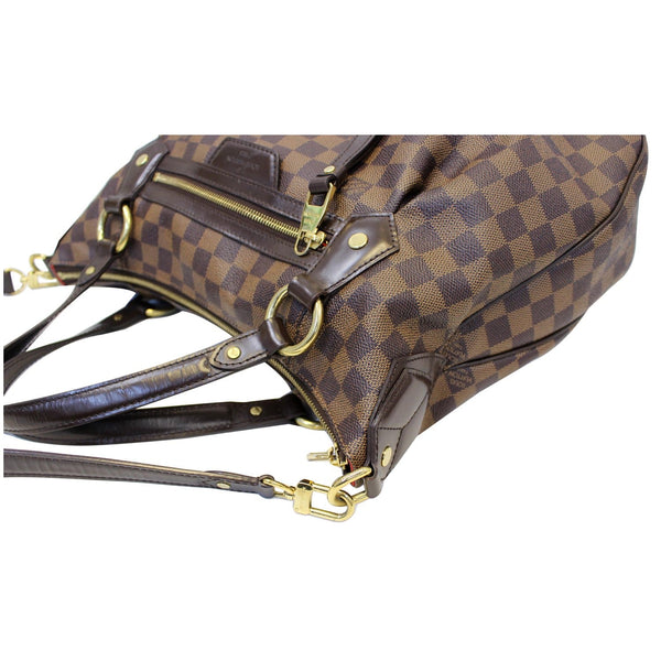 Louis Vuitton Damier Ebene Evora MM Tote Shoulder Bag - lv bag