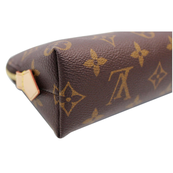LOUIS VUITTON Monogram Canvas Cosmetic Pouch Brown