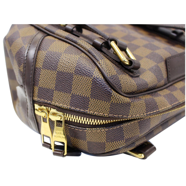 Louis Vuitton Damier - Rivington PM Ebene Shoulder Bag - gold zip