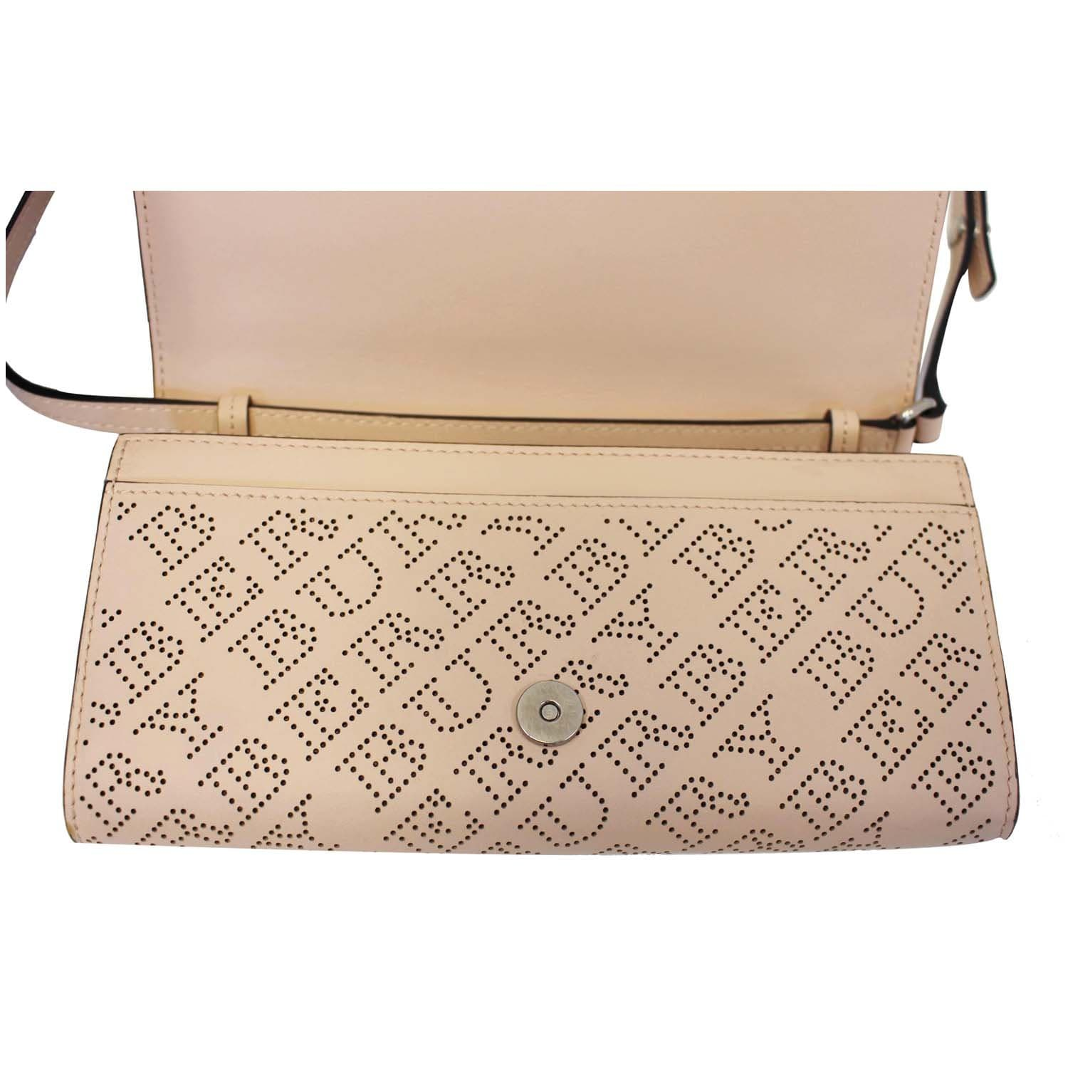 b2c91673464c BURBERRY Hampshire Perforated Leather Crossbody Bag-US