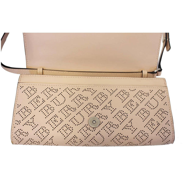 Burberry Crossbody Bag Hampshire Perforated Leather - on sale