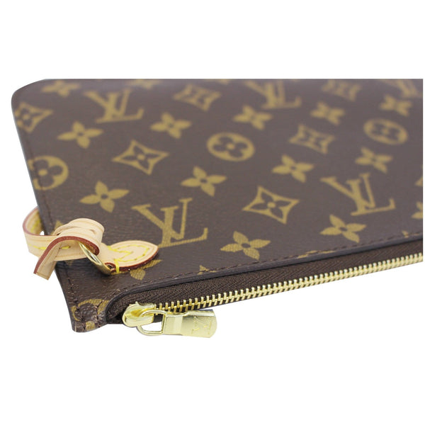 LOUIS VUITTON Pochette Wristlet Pouch Damier Ebene Neverfull MM/GM-US