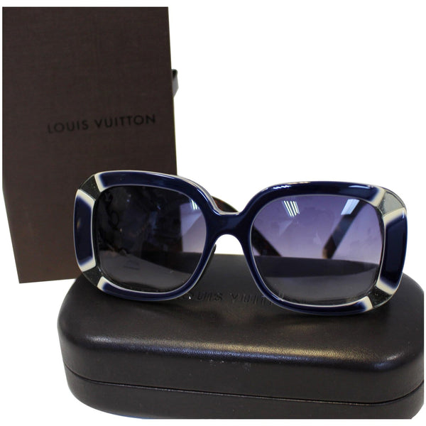 LOUIS VUITTON Anemone Navy Sunglasses - Louis vuitton  women