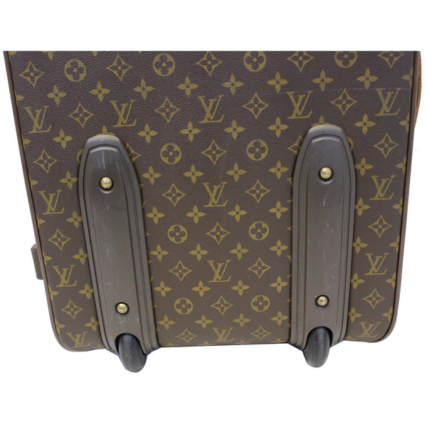 Louis Vuitton Pegase 55 Monogram Canvas Bag wheels