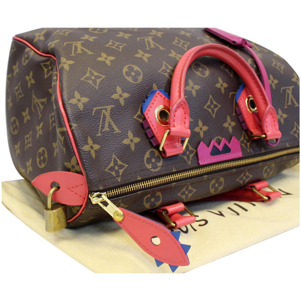 Louis Vuitton Totem Speedy 30 Monogram Canvas tote