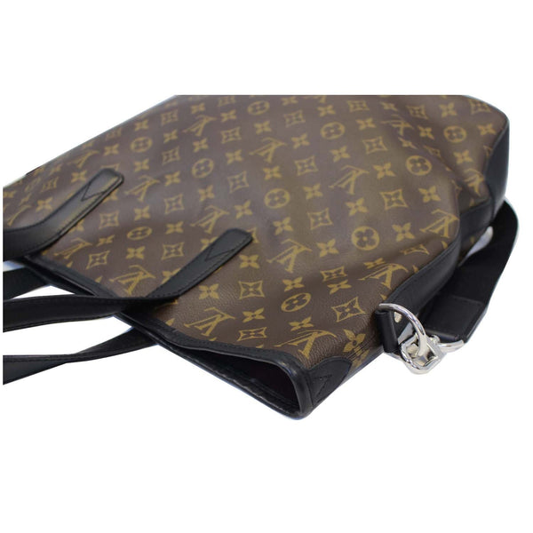 LOUIS VUITTON Davis Monogram Macassar Canvas Tote Shoulder Bag
