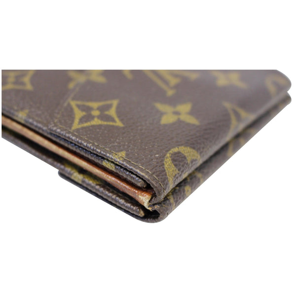 Louis Vuitton Wallet Monogram Canvas Vintage Flap - side view