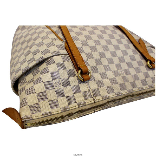 Louis Vuitton Totally GM Damier Azur Tote Bag - side view