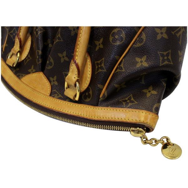 Louis Vuitton Tivoli PM Monogram Canvas Hand Bag Corner