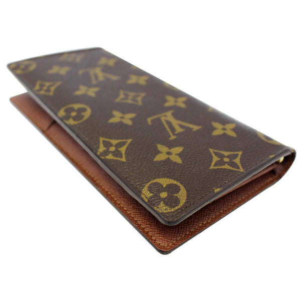 LOUIS VUITTON Brazza Monogram Canvas Wallet Brown-US