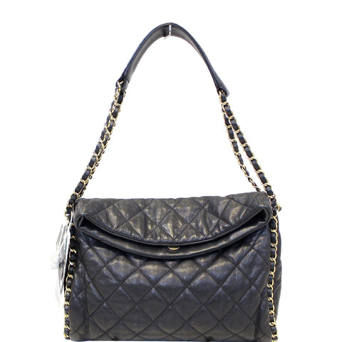 CHANEL Hobo Quilted Ultimate Soft Chain Around Tote Bag