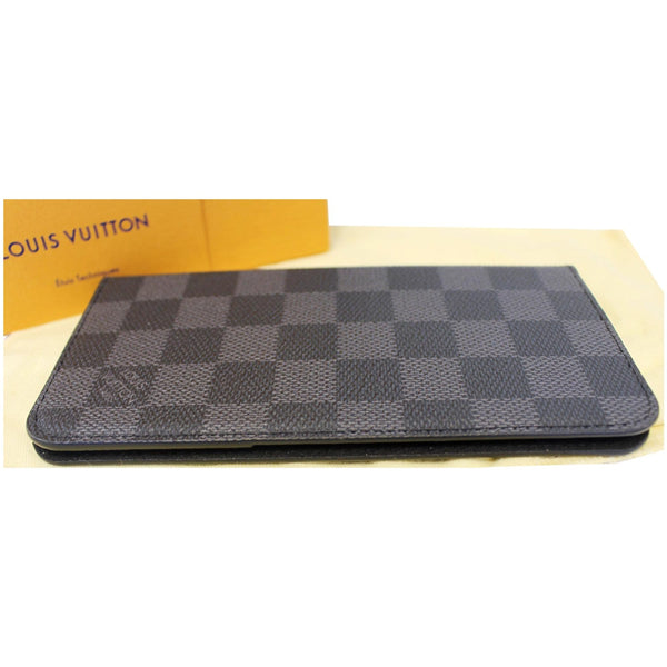 Louis Vuitton Folio Case For iPhone 7 Plus Damier graphite