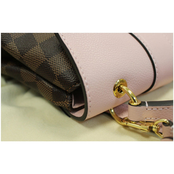 Louis Vuitton Clapton Damier Ebene Backpack Bag corner view