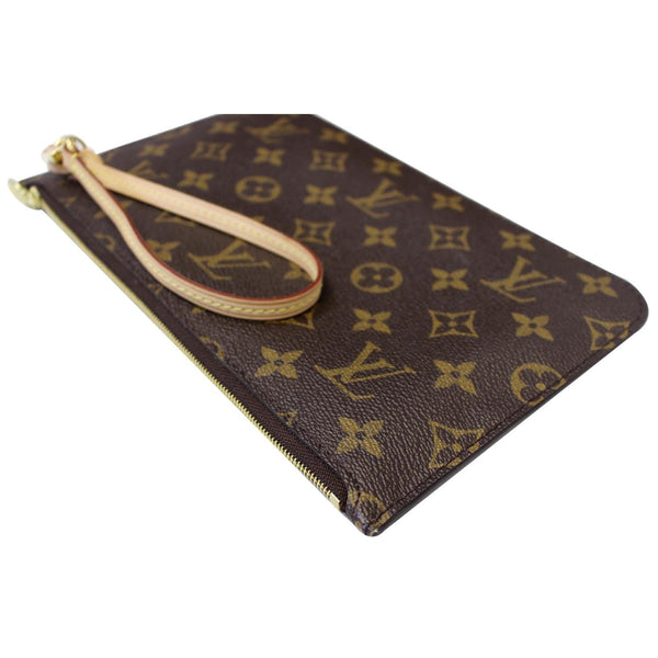 Louis Vuitton Pochette Wristlet Neverfull MM Pouch for sale