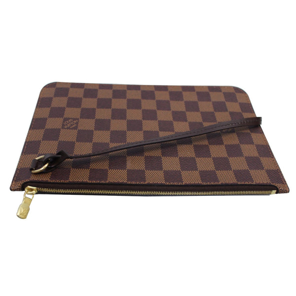 Louis Vuitton Pochette Wristlet Neverfull MM Pouch with strap