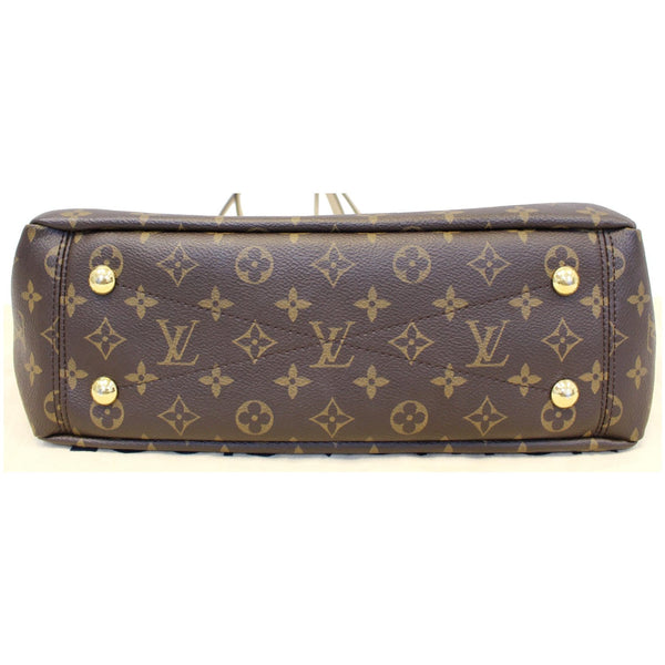LOUIS VUITTON Pallas Chain Shopper Bag Monogram Canvas Dune