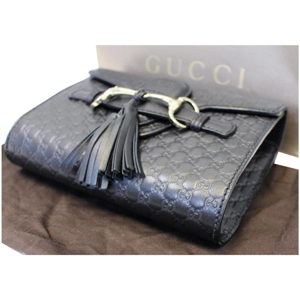 Gucci Shoulder Bag Emily Mini Micro GG Guccissima - side view