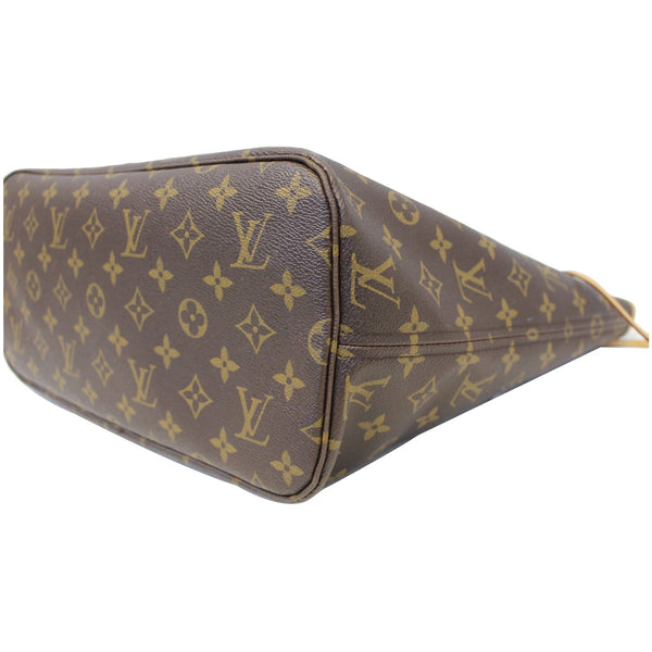 Louis Vuitton Neverfull MM - Lv Monogram Canvas Tote Bag - authentic