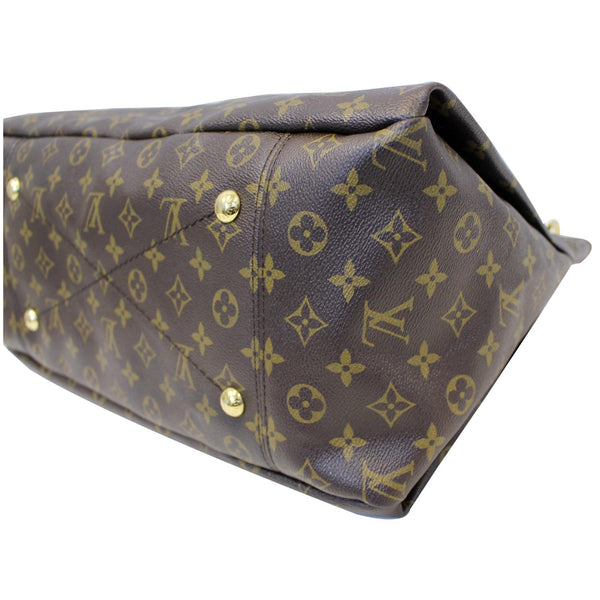Louis Vuitton Artsy MM Monogram Shoulder Bag - corner view