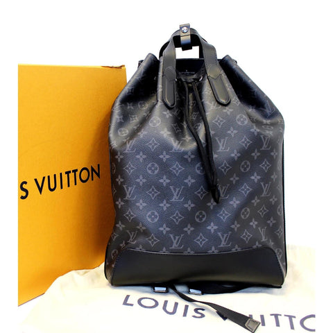 LOUIS VUITTON Explorer Monogram Eclipse Backpack