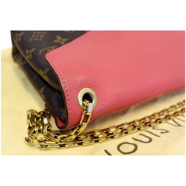 Louis Vuitton Pallas Chain Monogram Canvas Seam Bag