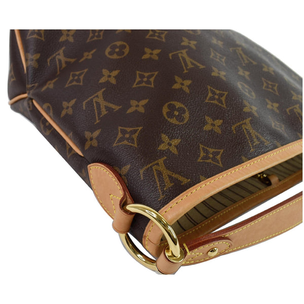 side preview lv Delightful PM Monogram Canvas Hobo Bag