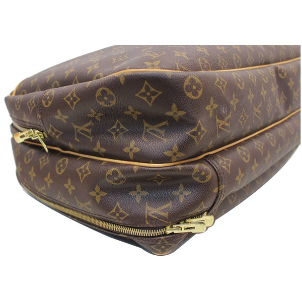LOUIS VUITTON Alize 24 Heures Soft Suitcase Bag Brown