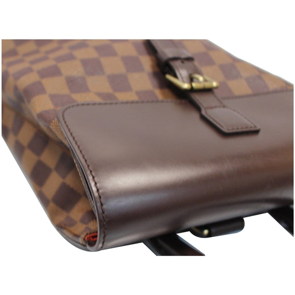 Louis Vuitton Soho Damier Ebene Backpack Bag Brown corner