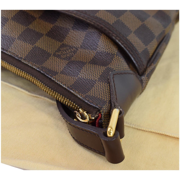 Louis Vuitton Bloomsbury PM Damier Ebene Bag Women - corner close view