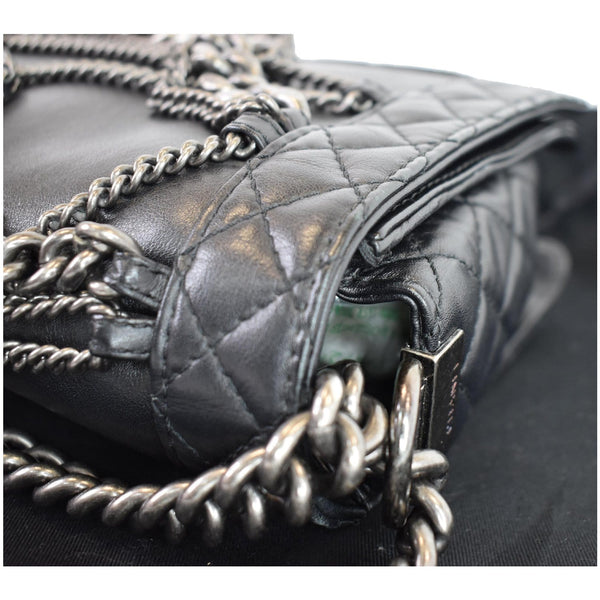 Chanel Boy Enchained Medium Flap shoulder Bag for women