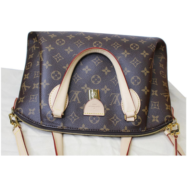 top look lv Rivoli MM Monogram Canvas 2Way Bag