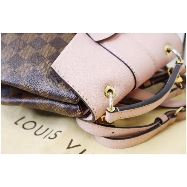 Women LV Clapton Damier Ebene Backpack Bag