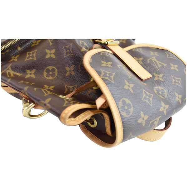 LOUIS VUITTON Sac A Dos Bosphore Monogram Canvas Backpack Bag Brown