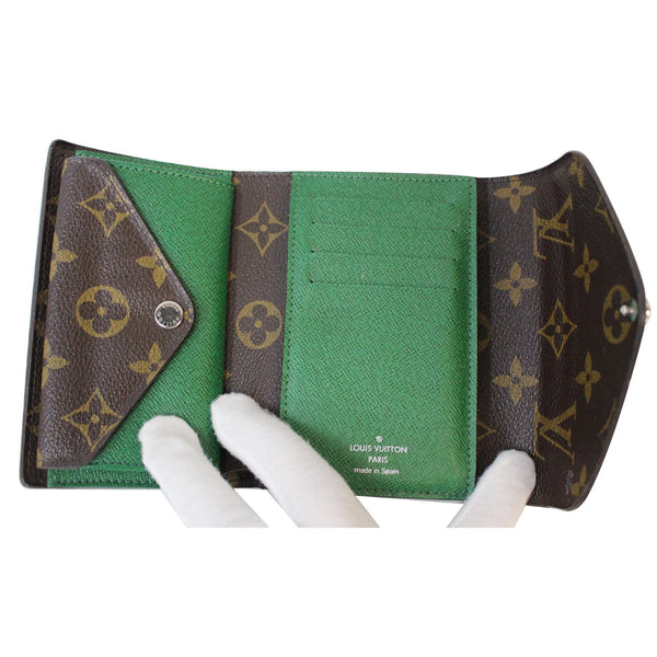 Louis Vuitton Marie-Lou Monogram Canvas Wallet Interior