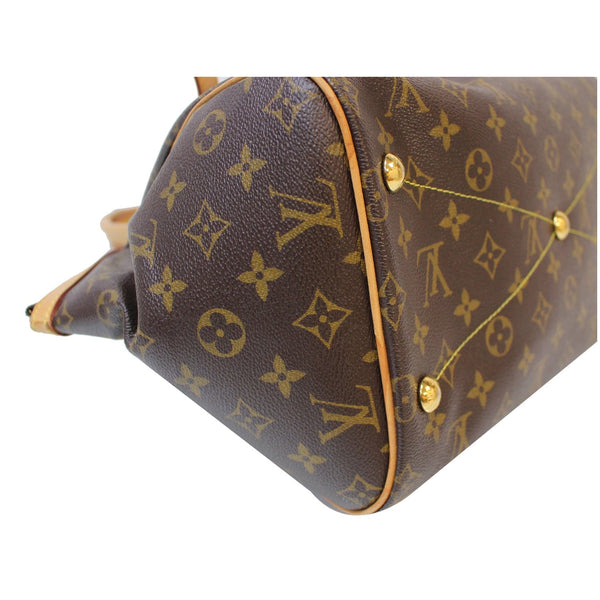 LV Tivoli GM Monogram Canvas Shoulder Bag Length 12