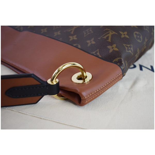 Louis Vuitton Tuileries Monogram Canvas tote bag corner