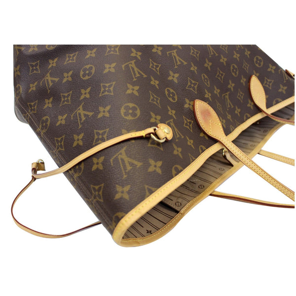 Louis Vuitton Neverfull GM Monogram Canvas Tote Bag - leather