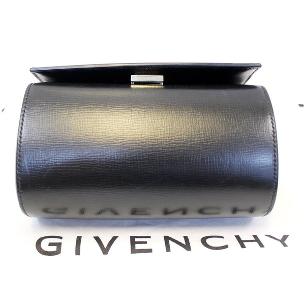 GIVENCHY Mini Pandora Box Calfskin Leather Chain Crossbody Bag Black-US