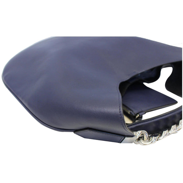 Givenchy Hobo Bag Infinity Medium Leather Blue - left view