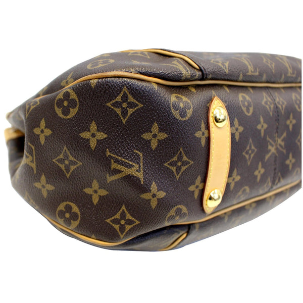 Louis Vuitton Galliera PM Shoulder Handbag - bottom view