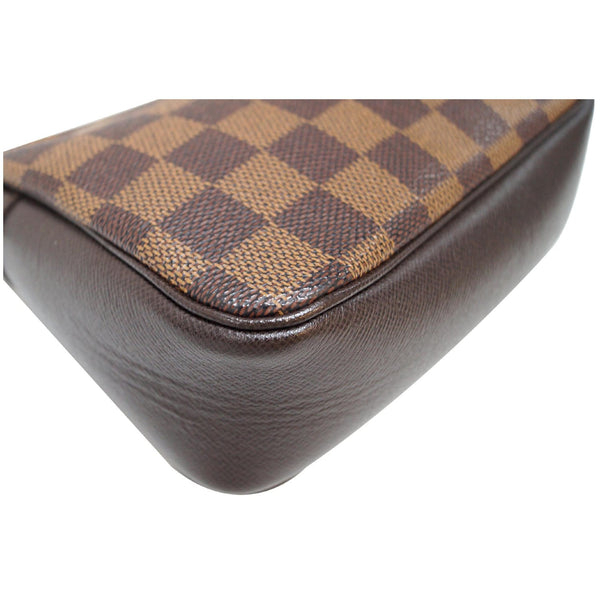 Louis Vuitton Damier Ebene Truth Makeup Pouch Bag -corner
