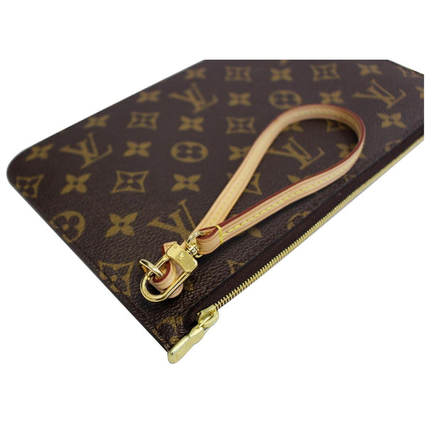 Louis Vuitton Pochette Wristlet Neverfull MM Pouch - authentic