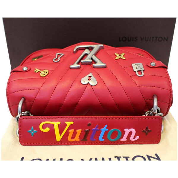 Louis Vuitton PM Wave Love Lock Chain Shoulder Bag - online