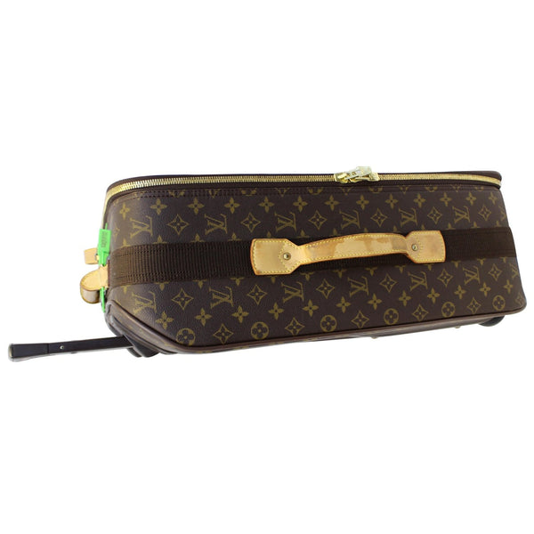 Louis Vuitton Pegase 55 Monogram Canvas Bag side view