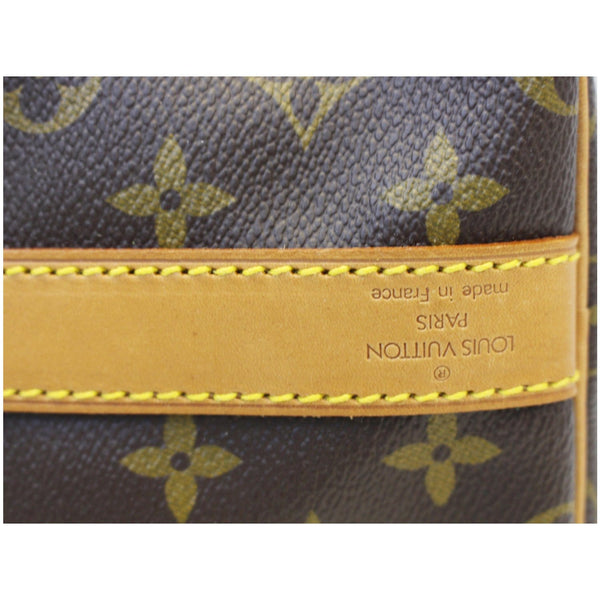Louis Vuitton Keepall 55 Bandouliere Travel Bag - lv logo